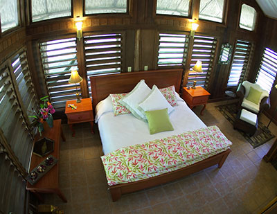 Chan Chich guest room