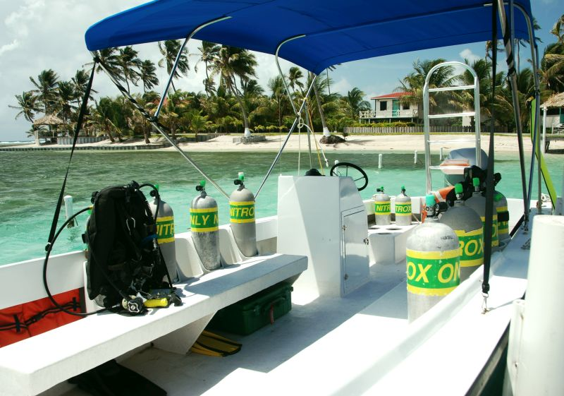 Ms. K is used for small scuba diving groups