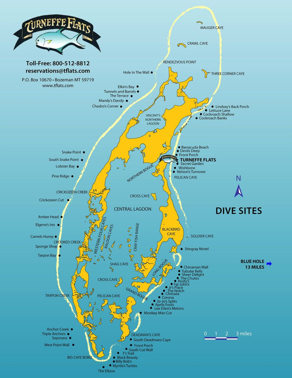 Scuba dive belize atolls belize reefs and the belize blue - Padi dive sites ...