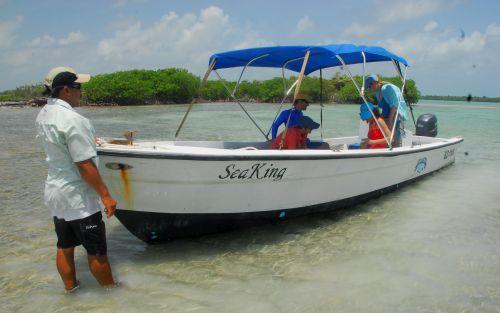 Eco-tour adventures on Turneffe Atoll