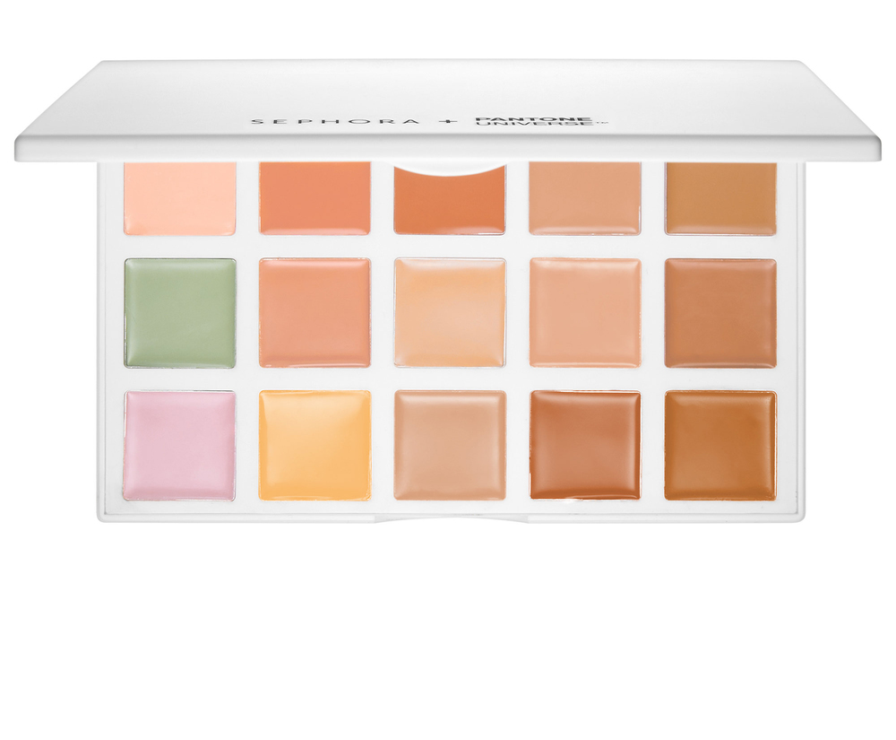 Sephora Color Correcting Palette Let's face it; we all have those mornings where we wake up to a face full of blemishes. Start your routing off with this incredible color-correcting pallet that works wonders when it comes to concealing sport, dark circles, redness or hyper-pigmentation.