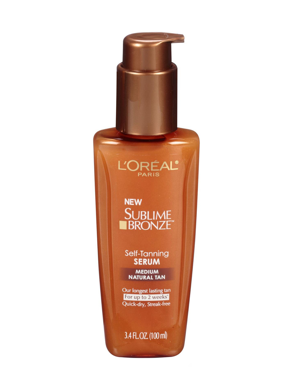I add a few drops in my moisturizer and apply on arms and legs! Adding a bronzing serum to a lotion helps ensure no streaking or missed spots. Best drugstore find ever! L'Oreal Sublime Tanning Serum