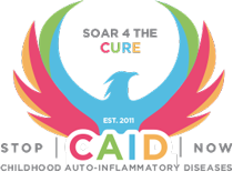 A foundation that was created to spread awareness and find a cure for Childhood Autoinflammatory Diseases.