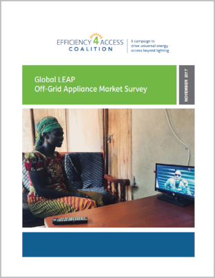 2017 Global LEAP Off-Grid Appliance Market Survey