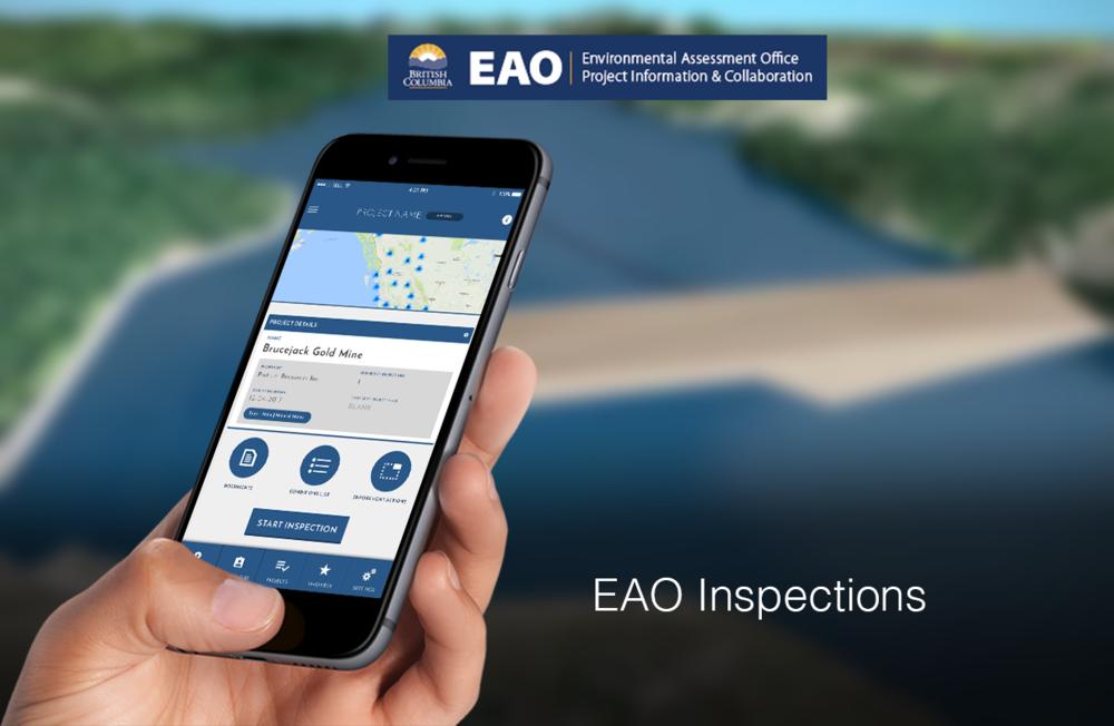 EAO inspections app