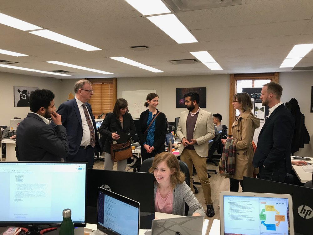 EAO App demo and chat with Hon. Minister Bruce Ralston and Parliamentary Secretary for Technology Rick Glumac