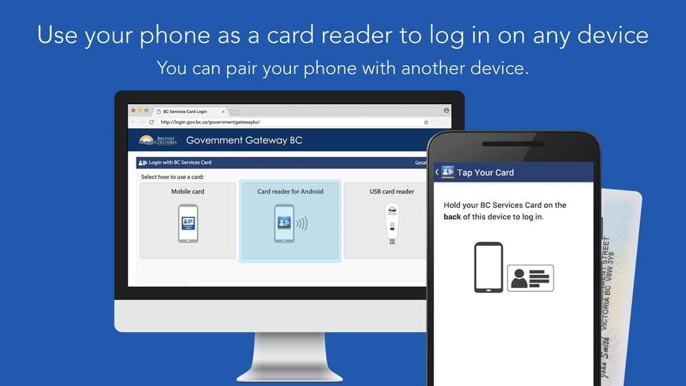 BC Services Card App & Web