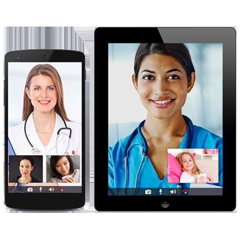 Livecare Connect app mockups by FreshWorks