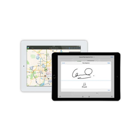 Pruvit Inspections app mockup by FreshWorks