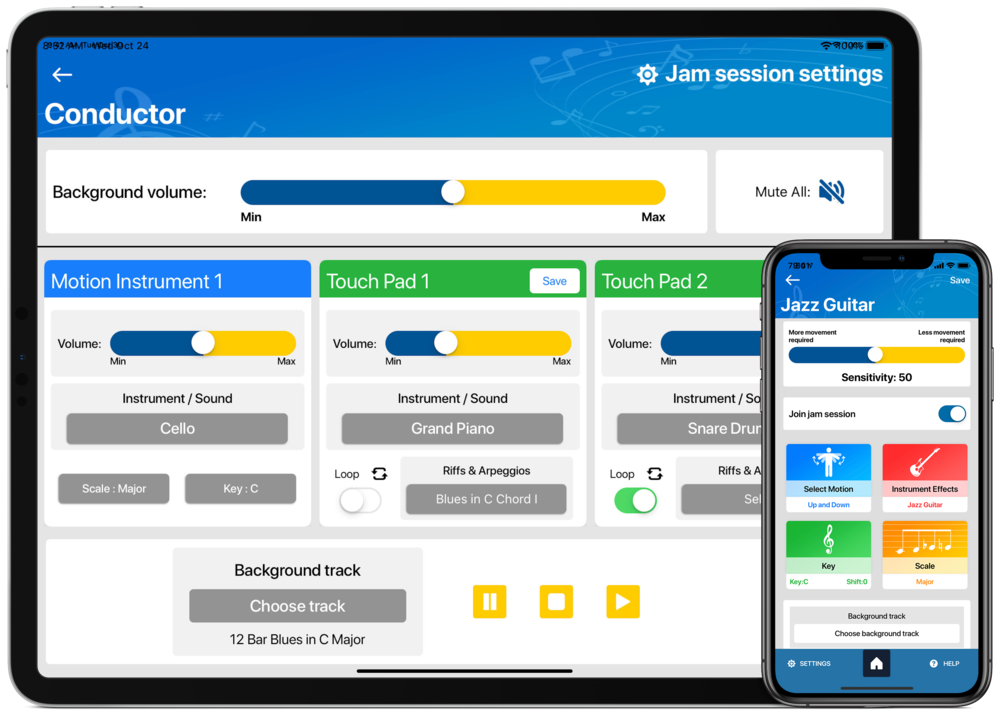 iPhone + iPad Waveband App.png