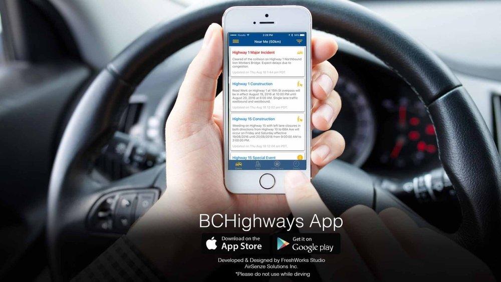 BC Highways App