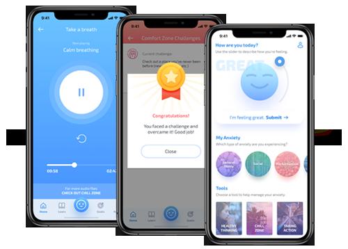 MindShift mobile application designed by FreshWorks Studio