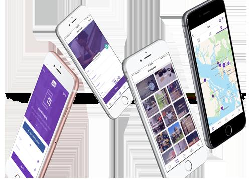Used.ca Mobile application mockups by FreshWorks Studio