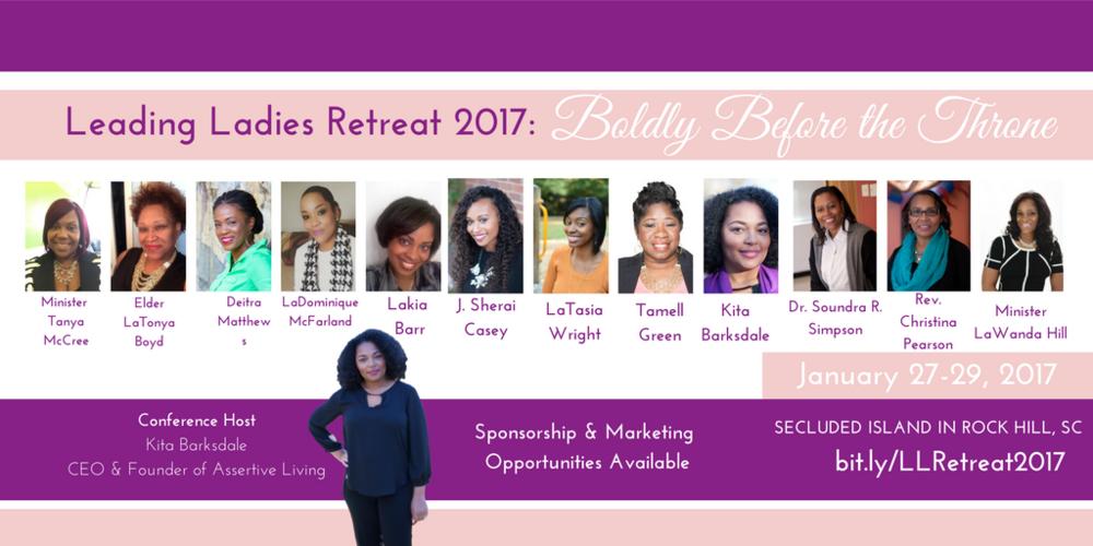Kita Barksdale Leading Ladies Retreat Women Empowering WOmen South Carolina events