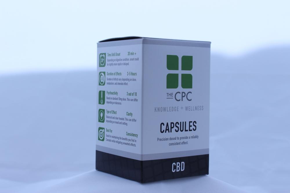 CBD Cannabis Capsules The Center for Palliative Care Seattle