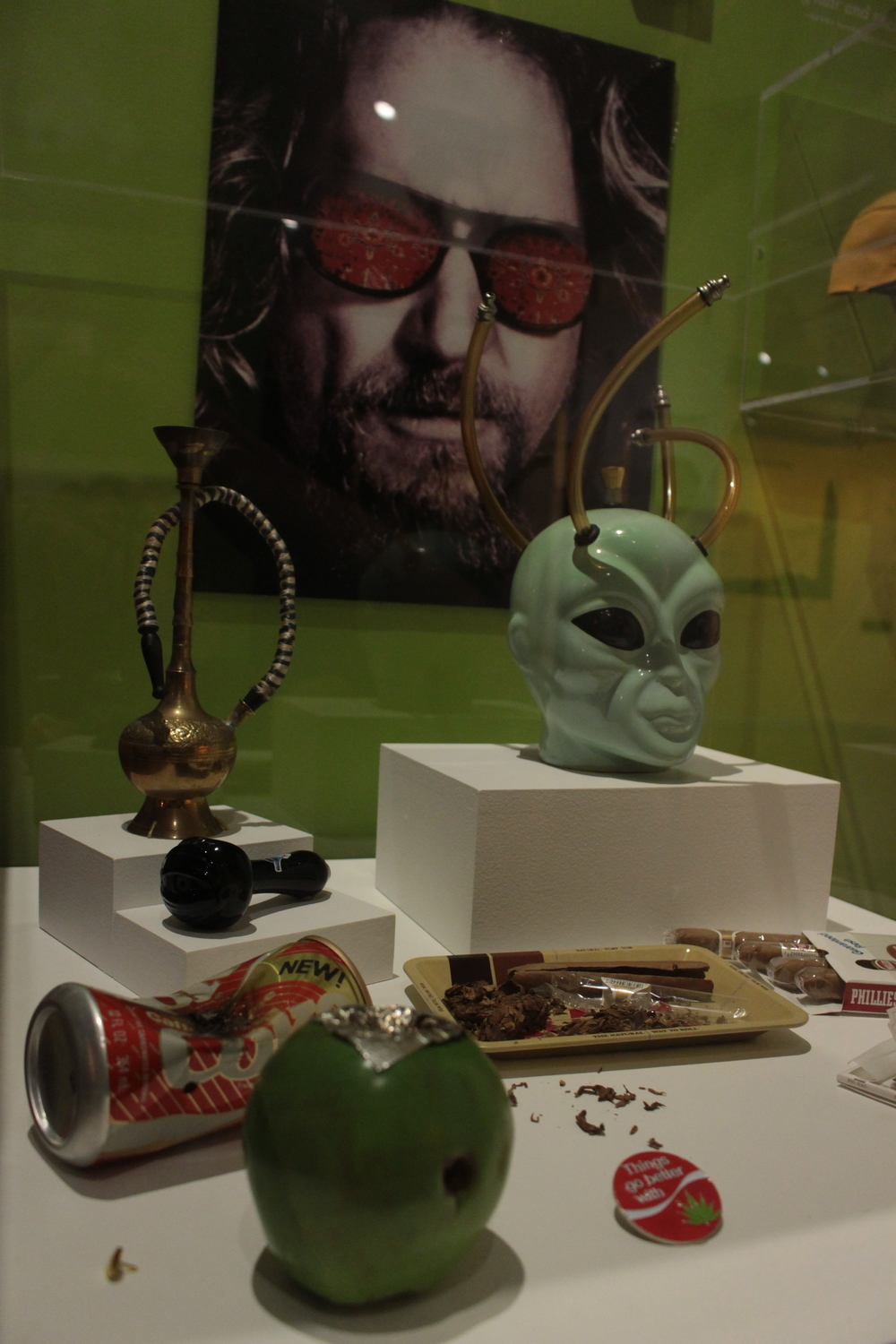Cannabis paraphenalia and the dude at altered states in oakland