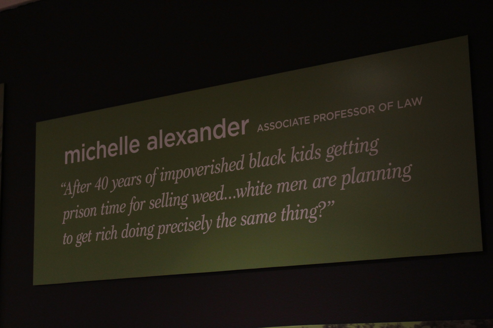 Michelle alexander racial equity quote at oakland museum of california
