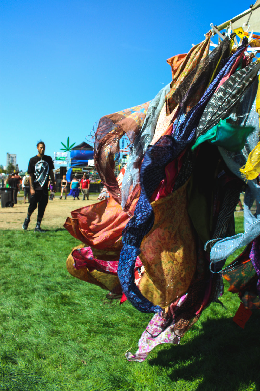 Colorful scarves Hempfest 25th anniversary.JPG