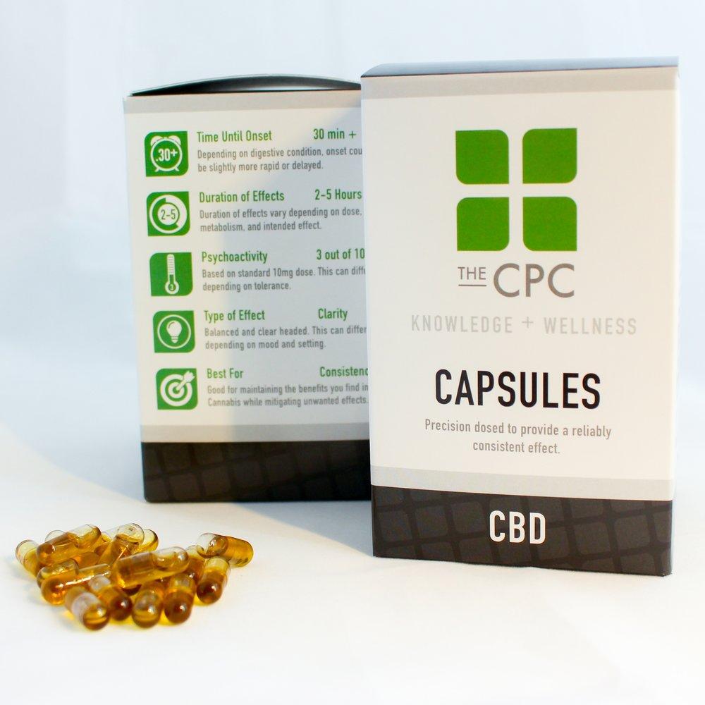 CBD Cannabis Oil Capsules The CPC