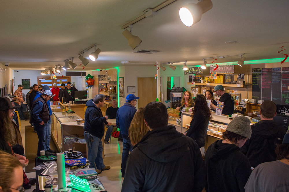 West Coast Wellness Cannabis Store Bellingham Anniverary Party