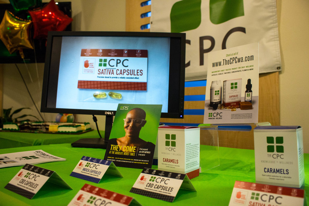 CPC brand Cannabis packaging and advertising