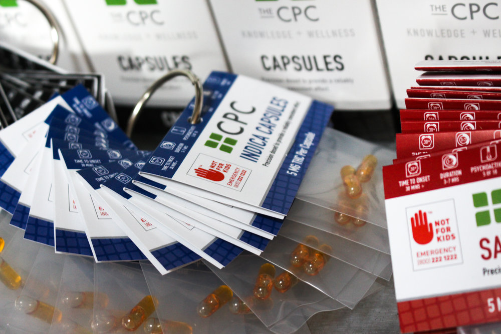 Cannabis capsules The CPC Indica Oil