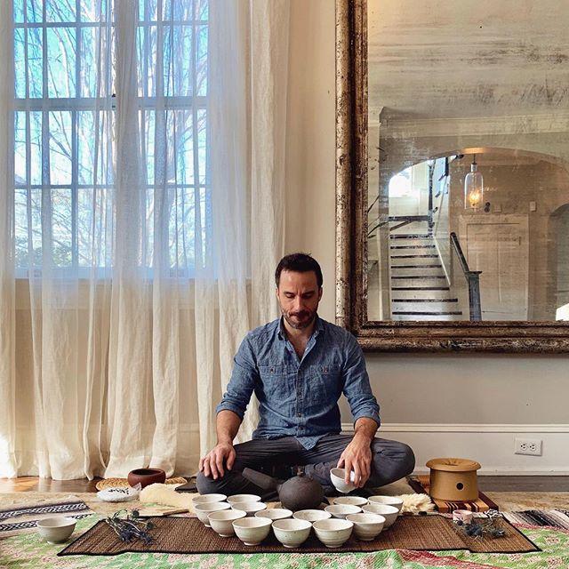 Serving tea to 16 women on my birthday, the spring equinox, and the super full moon....wow. Happy birthday to me! 🙏❤️ Thank you, @pranicsoul and @reginaeileen ! @livingtea @globalteahut . . . . . . . . . .  @potsandtea @careforteaware @teadrunk #birthday #tea #fullmoon #supermoon #teaceremony #chaodao #zen #peace #yoga #kundalini #kundaliniyoga #bhakti #yogibhajan #waheguru #satnam #love #women #equinox #springequinox #moon #atlanta #joy #meditation #mindfulness #buddhism #loveserveremember #inspiration #happy #happybirthday #beautiful