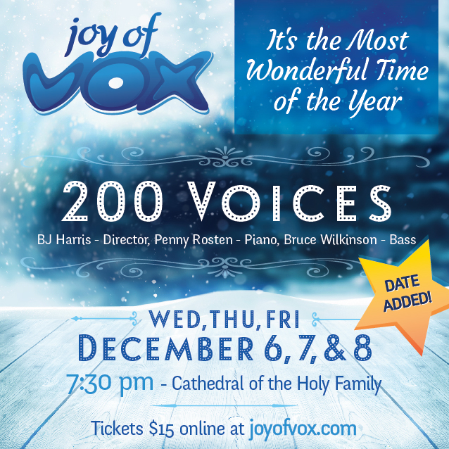 Joy of Vox Winter Concert 2017 Friday