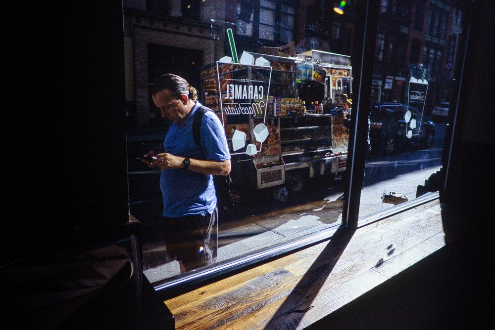 SoHo, New York City - Leica MP | CV 21 f/4 | Provia 100F