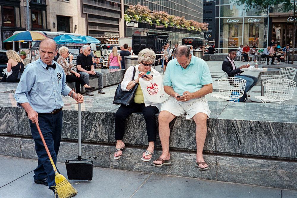 Manhattan, August 2014 - Leica MP | CV 35 f/1.4 Nokton |Kodak Portra 400