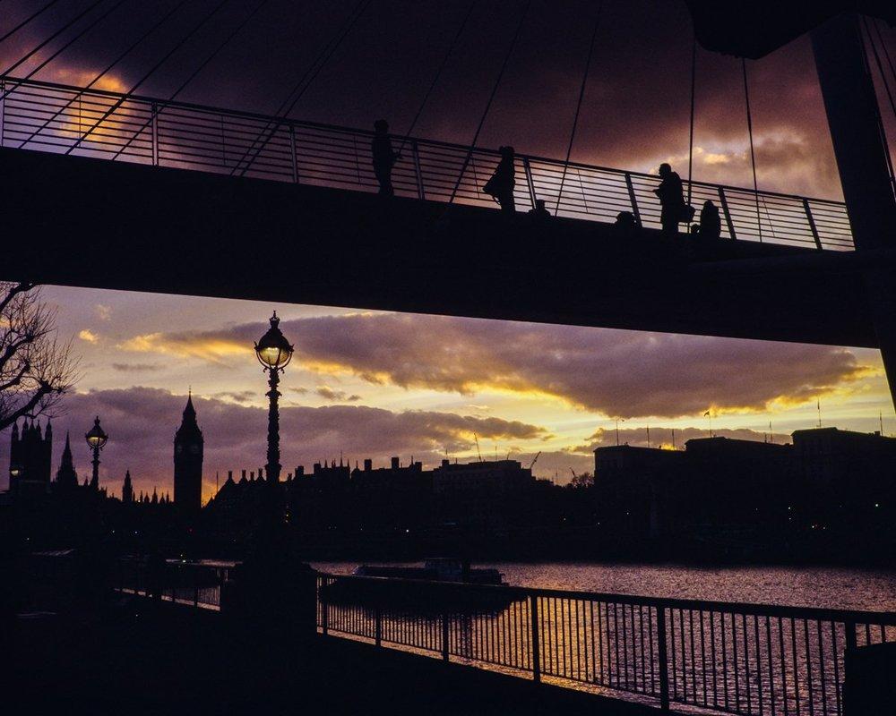 London, UK -February, 2017 -Mamiya 7ii | 80 f/4 | Fujichrome Provia 400X