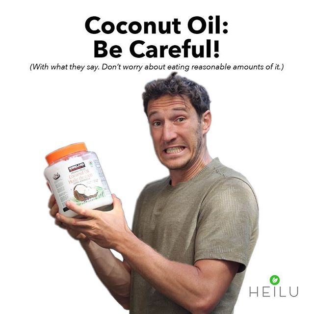 🌴 ➞ 🛢 ➞ 💔☠️ ⁉️⁉️ Stop stressing.  Read our blog post on the truth behind the claims coconut oil is a heart stopper instead!