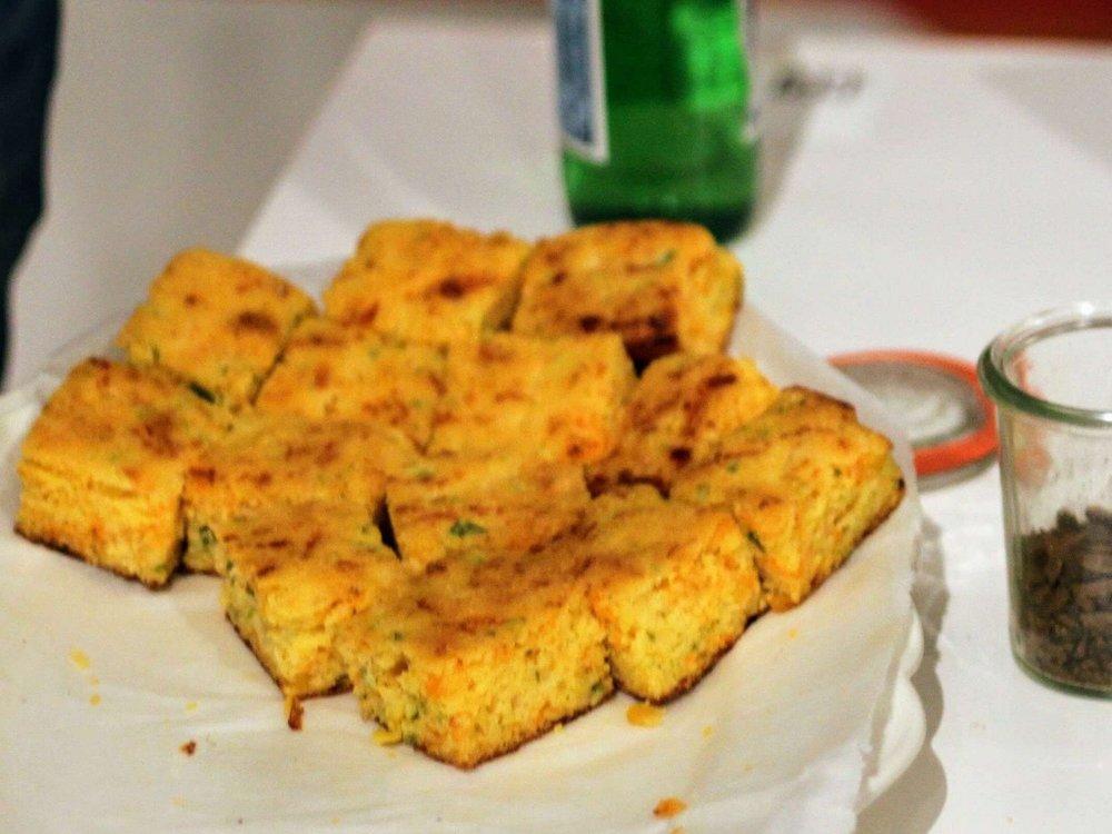 Heilupeño corn bread