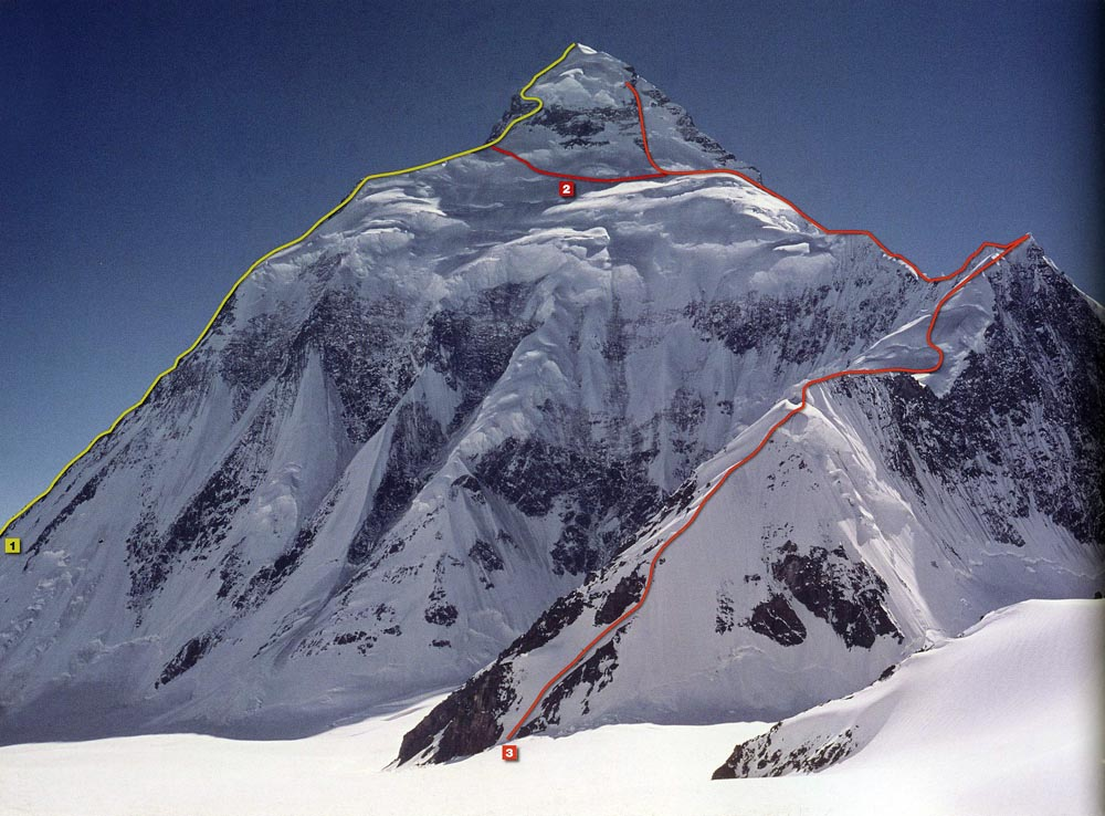 K2 First Ascent Northeast Ridge Route with optional abruzzi traverse.jpg