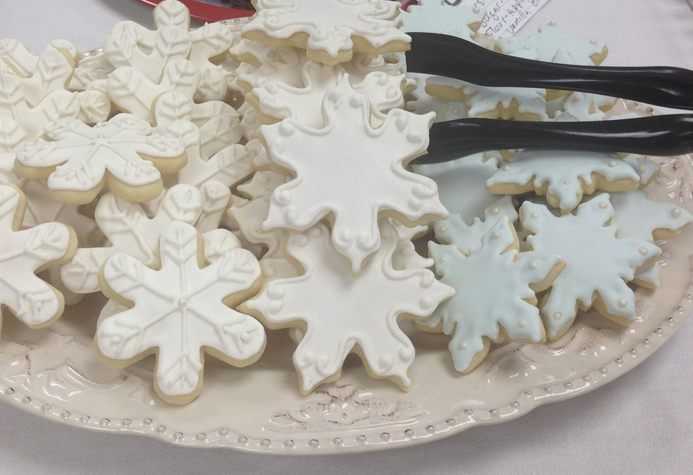 Holiday Sugar Cookie Platter