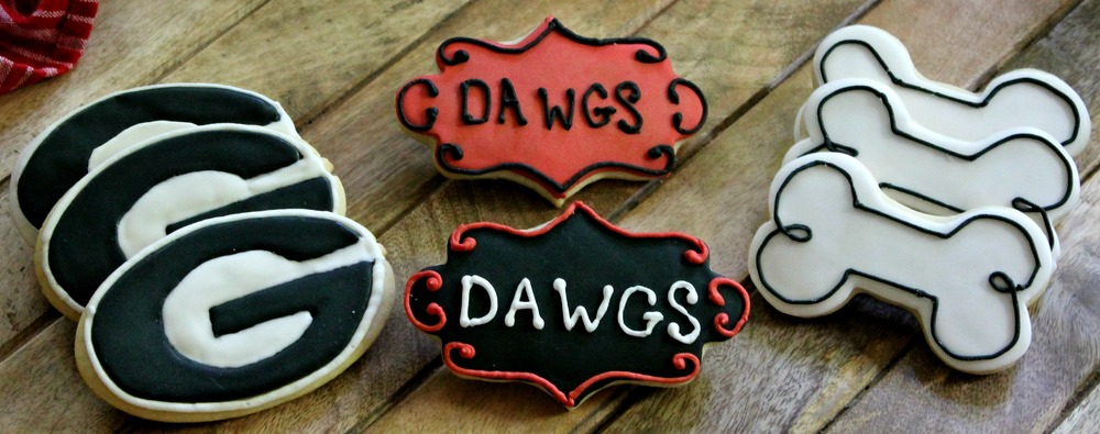 University of Georgia Bulldog cookies