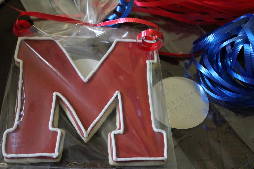 Milton Varsity M ($3 each)