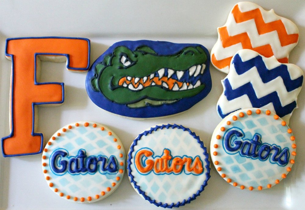 University of Florida Gators ($24/dozen; $64/box of 36)