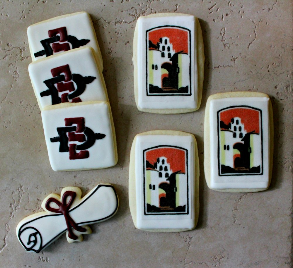 San Diego State cookies