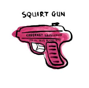 Squirt Gun Wine Label