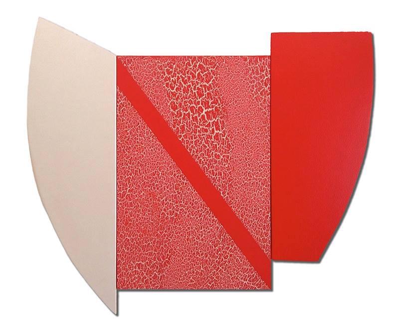 """Multiform 13, 2014, acrylic on panel, 27"""" x 31"""""""