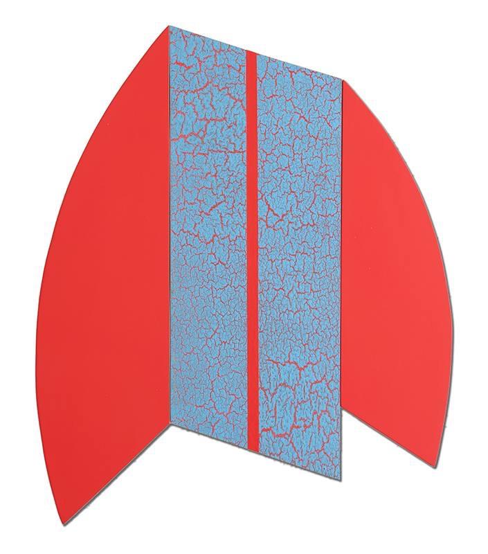 """Multiform 14, 2014, acrylic on panel, 29"""" x 35"""""""