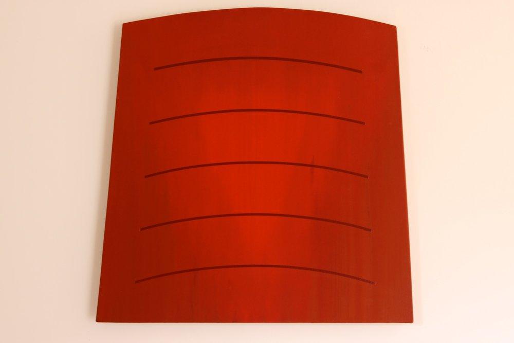 "Chroma Light #4 + Five, 2004/2009, 34"" x 34"""