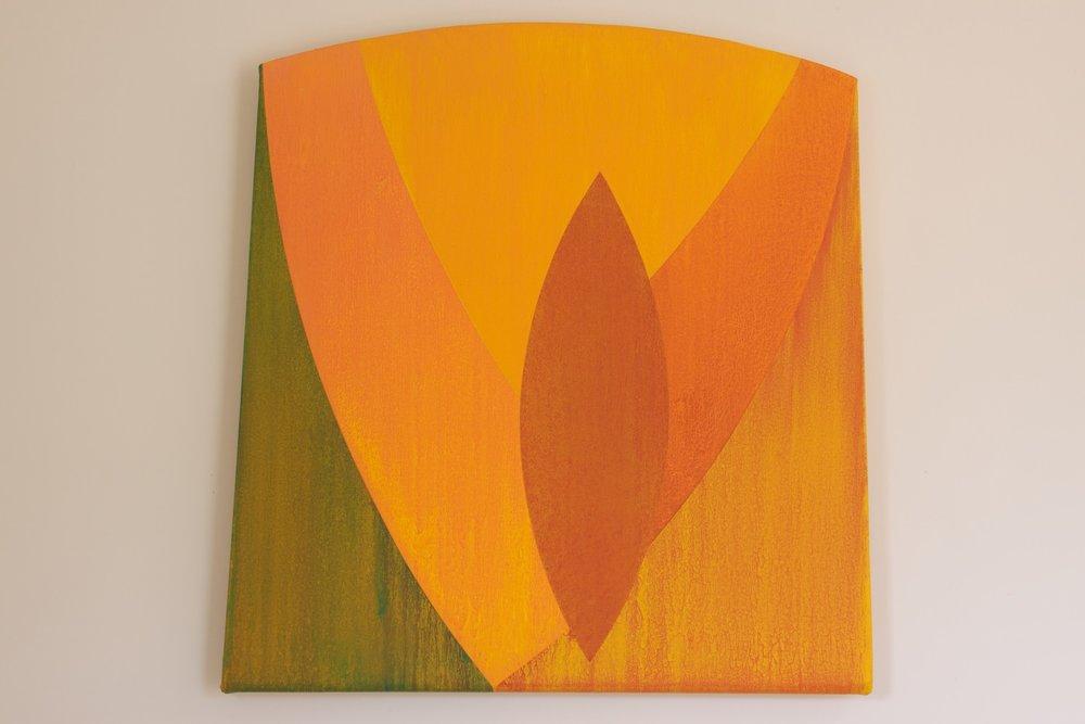 "Untitled, 2007, 33"" x 34"""