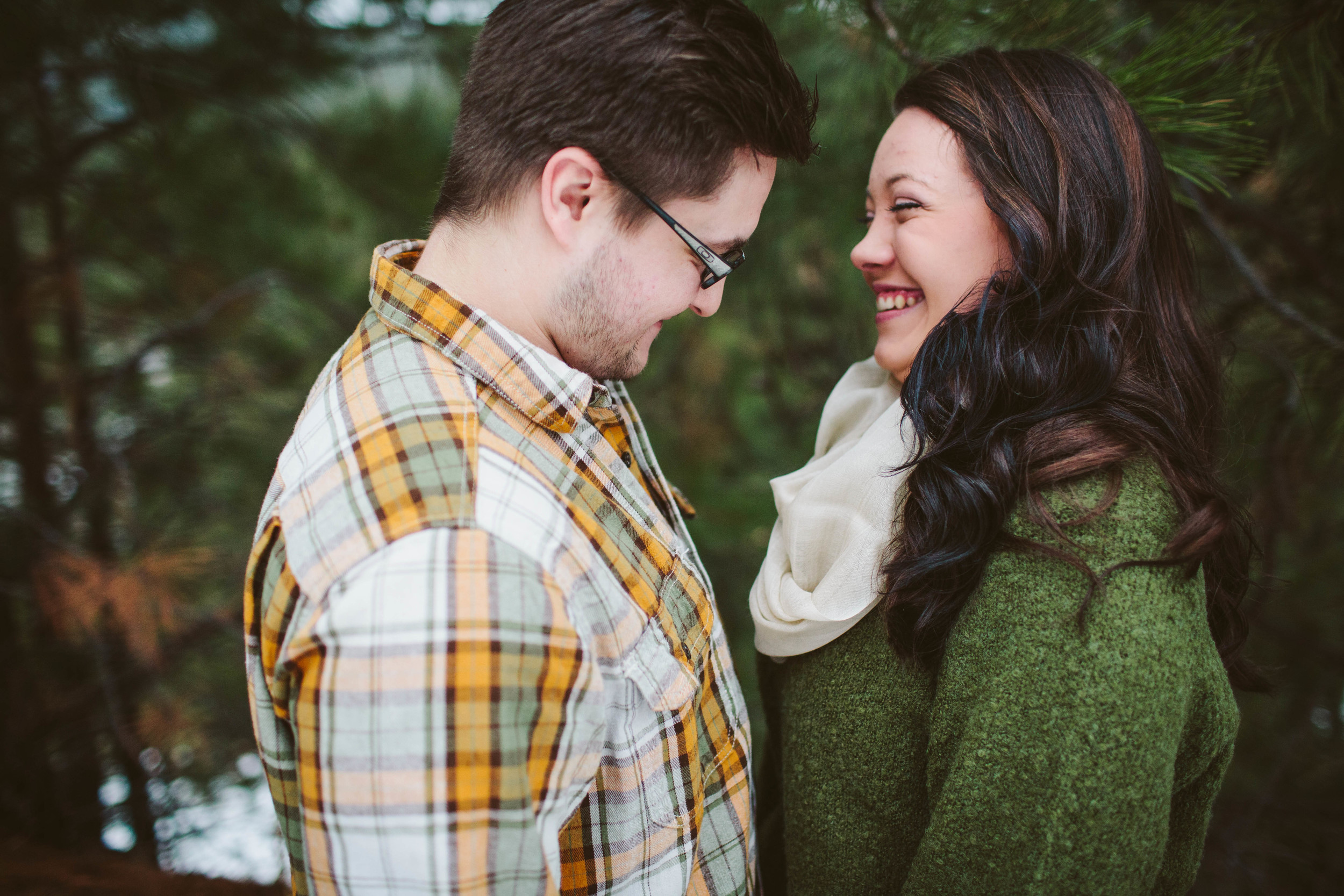 copper canyon engagement session