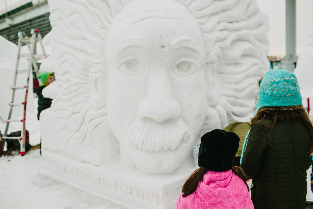 Einstein, the Anchorage Waldorf School's submission. (Our daughter's school!)