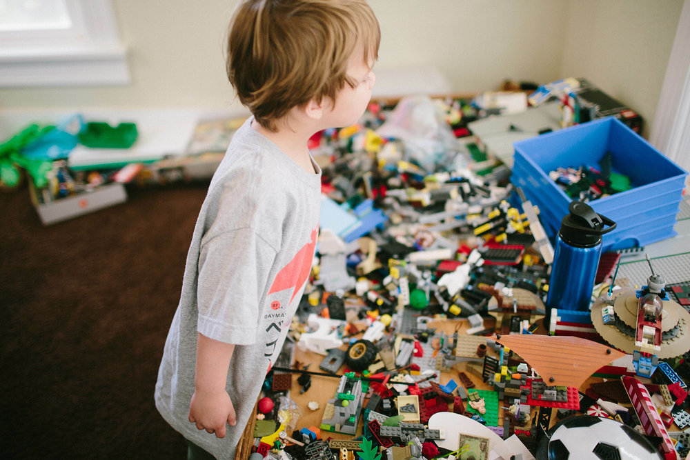 This family had 2 sons that loved legos, so of course they wanted that documented!
