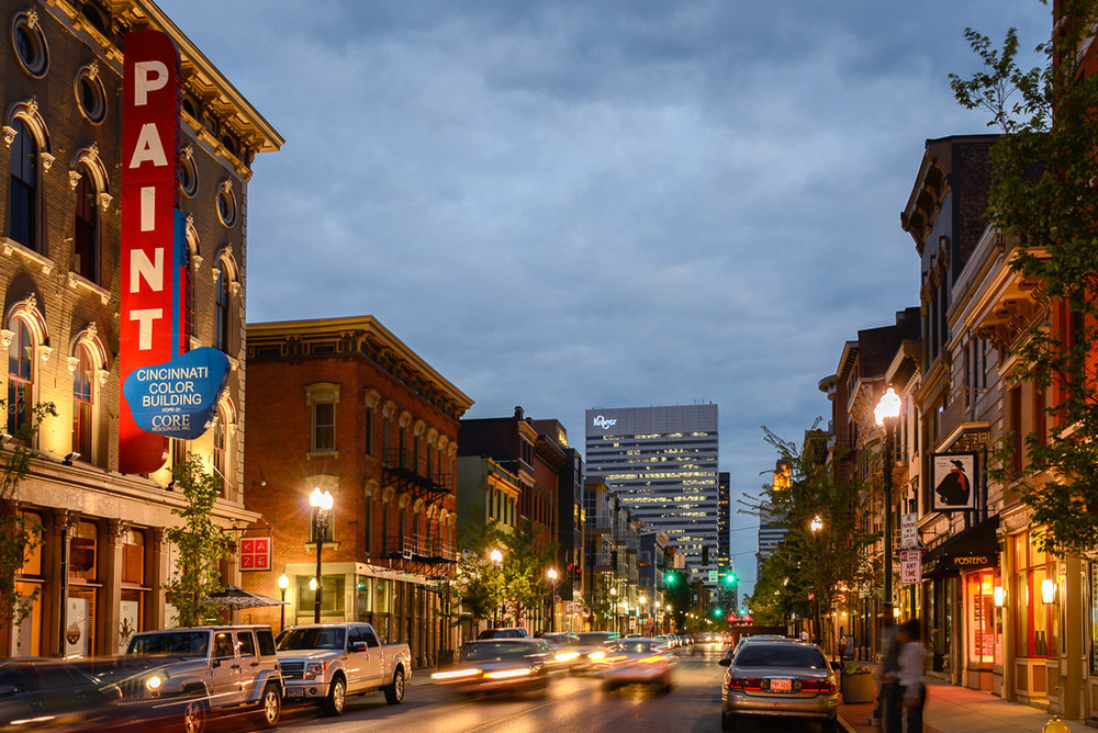 Restaurants, Bars, Boutiques and coffe shope are plentiful throughout vibrant and chic OTR
