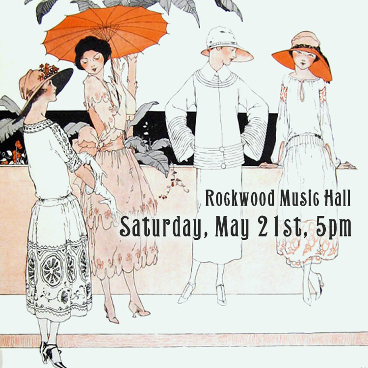 Miwa Gemini at Rockwood Music Hall, NYC Saturday, May 21st at 5PM