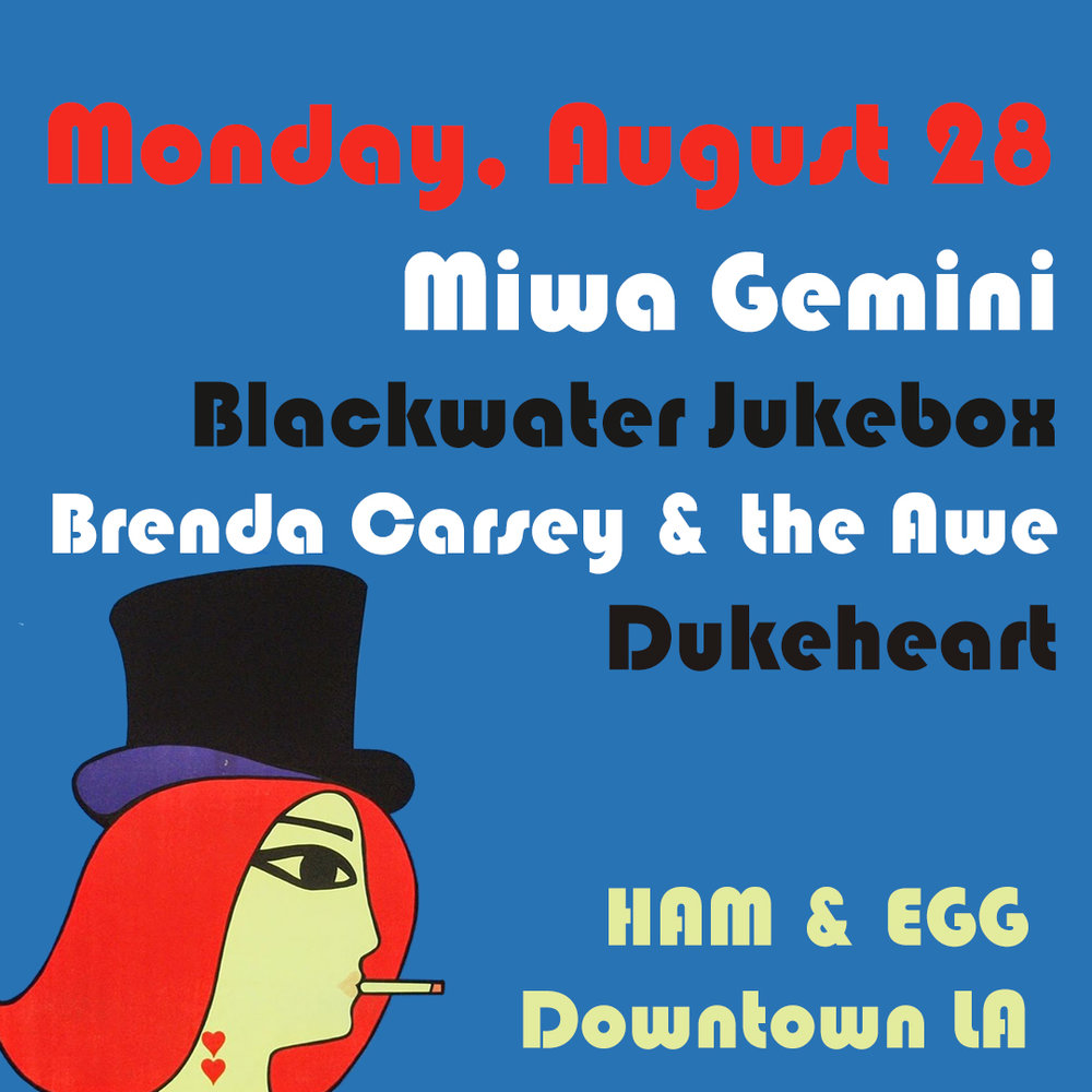 Miwa Gemini at Ham & Eggs Tavern (Los Angeles, CA)